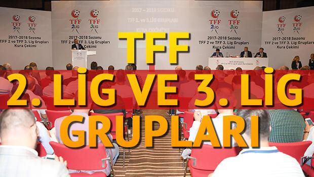 TFF 2. ve 3. Lig Grup Kura Çekimi canlı yayını ne zaman saat kaçta hangi kanalda?