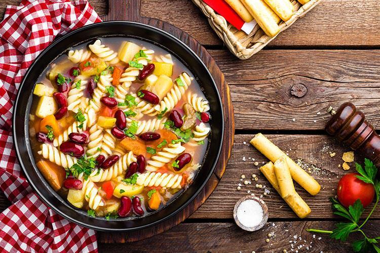 Minestrone çorbası tarifi