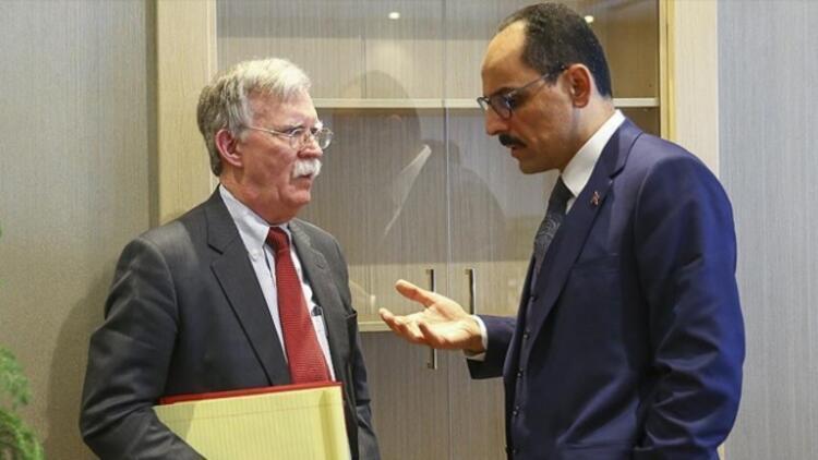 İbrahim Kalın, John Bolton ile telefonda görüştü