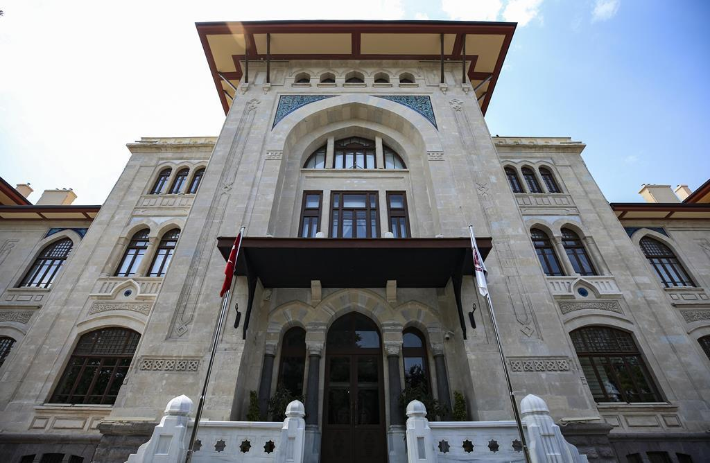 Ankara Valiliği yeni binasında