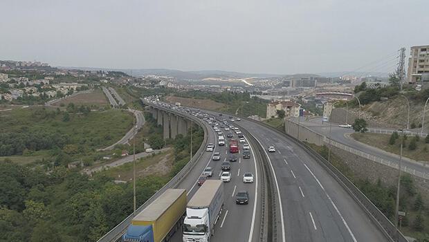 Bayramın son günü trafik yoğunluğu... İşte son durum