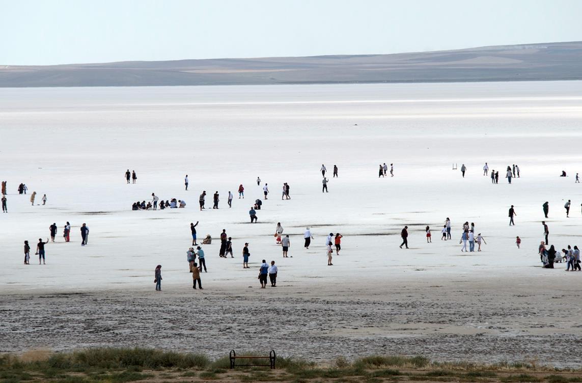 Tuz Gölü molası