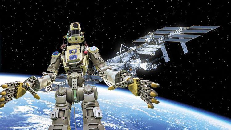 Robo-not Fedor uzaya çıktı