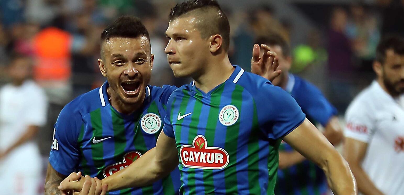 Çaykur Rizespor - Sivasspor : 2-1