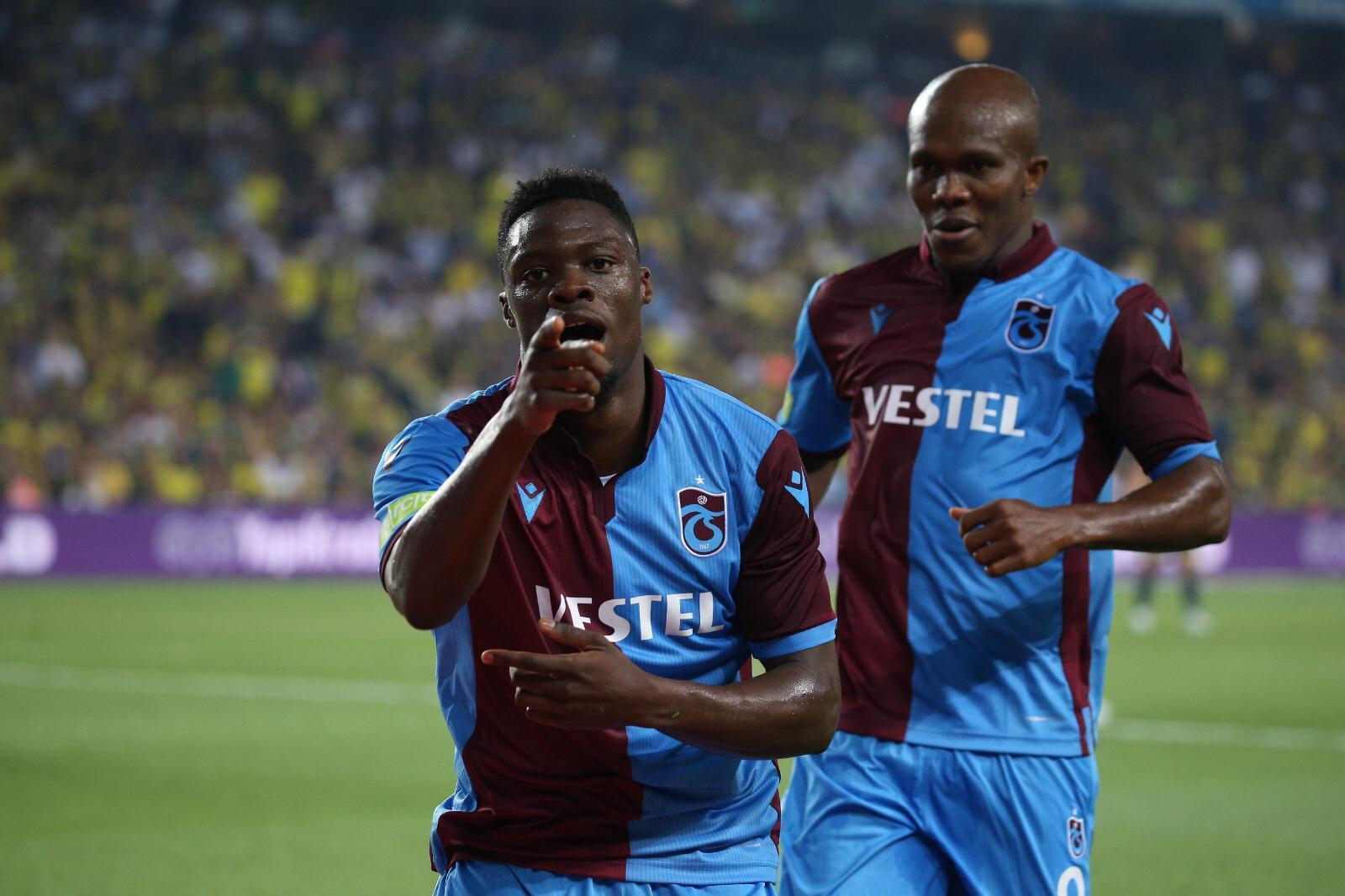 Trabzonspor'da Caleb Ekuban farkı! 7 maçta 5 gol...