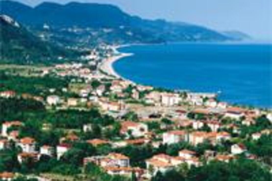 Karadeniz'in en uzun sahili Cide