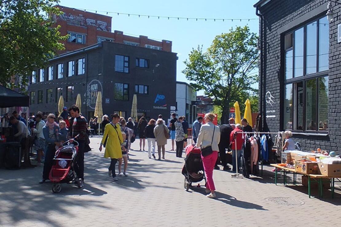 Telliskivi: Tallinn'in Hipster Bölgesi