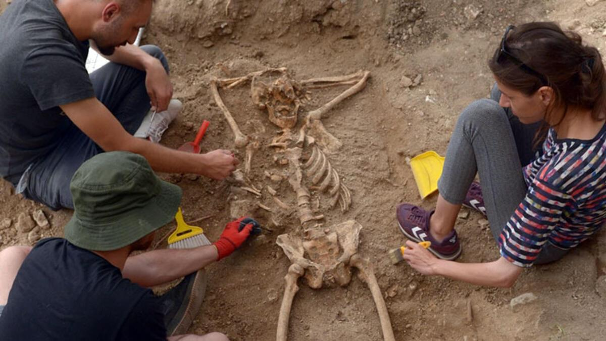 Sinop'ta arkeologları şaşırtan iskelet! 'İlk kez böyle bir şeye rastladık…'