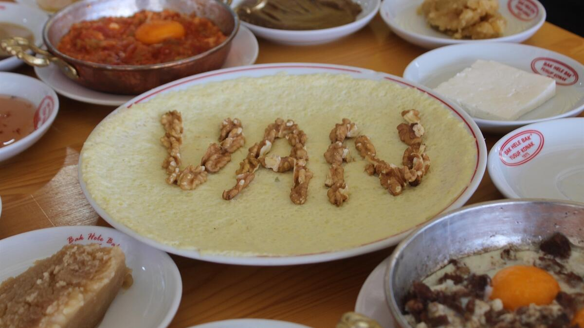 Van'da 'Dünya Kahvaltı Günü' ilan edildi