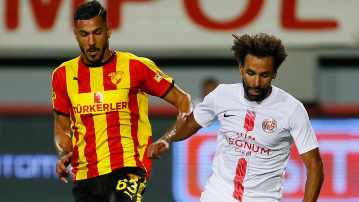 Antalyaspor'dan Göztepe'ye tek kurşun