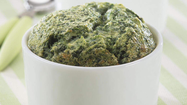 Ispanaklı ve patatesli sufle tarifi