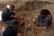 Sinopta arkeologları şaşırtan iskelet