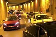 İstanbulda asker uğurlayan magandalar tünel kapatıp havaya ateş açtı
