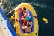 Şişme botla Marmaranın ortasında 5 saat