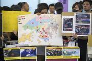 Hong Kong Uluslararası Havalimanında uçuşlar tekrar durduruldu