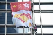 Örümcek Adam bu kez Hong Kongda gökdelene tırmandı