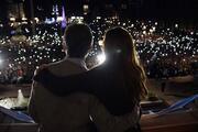 Arjantinde halk hükümete destek olmak için sokağa döküldü