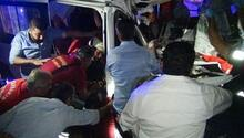 Diyarbakırda korkunç kaza: 4ü ağır, 8 kişi yaralandı