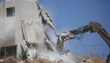 AB'den İsrail'in yıkımlarına tepki