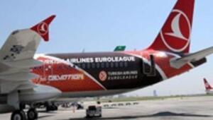 THY, uçağını Euroleague için boyadı
