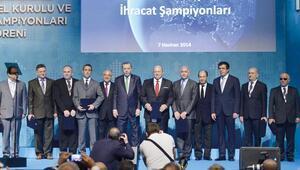Erdoğan, TİM Genel Kurulu'nda da 'Merkez'e yüklendi