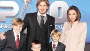 Beckham Ailesi 6 kişi oldu
