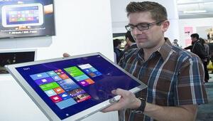 Panasonicten 20 inçlik dev tablet
