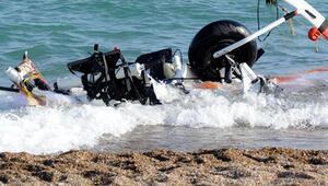 Antalyada paramotor düştü: 2 ölü