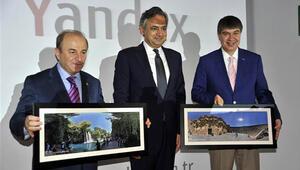 Antalyanın güzellikleri Yandex Panoramada