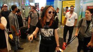 ABDli ünlü keman virtüözü Lindsey Stirling İstanbulda