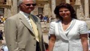 İsveç Kralı Efes'e hayran kaldı
