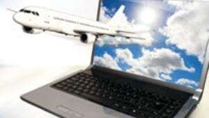 Uçaklarda internet bedava olacak