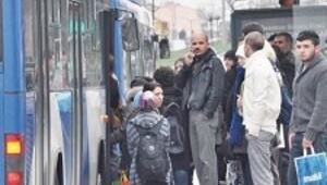 Toplu taşımaya ilgi giderek artıyor