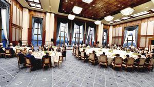 Cumhurbaşkanı Erdoğan, Yasama, Yürütme ve Yargı organlarının başkanlarıyla iftarda bir araya geldi