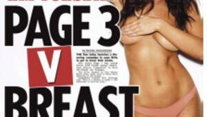 The Sun: 3. sayfa güzelleri meme kanserine karşı