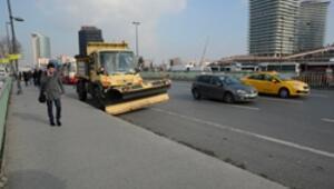 İstanbulda kar yağışı için hazırlıklar başladı