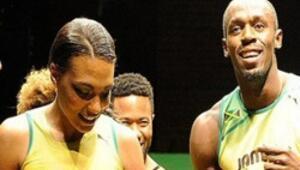 Usain Bolt aşkta da hızlı