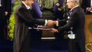 İlk Türk Nobeli aldı