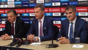 Şenol Güneş Beşiktaşa imza attı