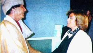 Kaddafi Tansu Çillere aşıktı