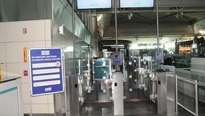 Parmak iziyle geçiş Atatürk Havalimanında başladı