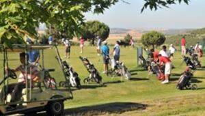 Antalyada golf şöleni