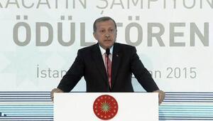 Erdoğan ihracat şampiyonları ödül töreninde partilere seslendi