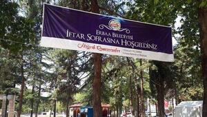 Erbaa'da İftar çadırından polislere yemek verilmedi iddiası