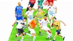 Euro 2008'de 'en pahalı 11' 281 milyon Euro'yu buluyor