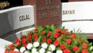 Celal Bayar mezarı başında anıldı