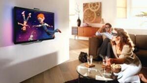 Televizyon zayıflayıp akıllandı, üç boyutta gözlüğe gerek kalmadı
