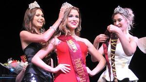 Mıss 7 Continents kraliçesi Portekizli Catarina