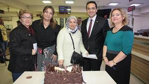 Başkan Atilladan pasta sürprizi