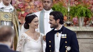 İsveç Prensi Carl Philip eski fotomodel Hellqvist ile evlendi